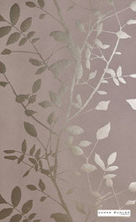James Dunlop Indent - Silhouette Wallpaper - Gold - 12507-100  | Wallpaper, Wallcovering - Deco, Decorative, Fibre Blends, Floral, Garden, Standard Width