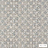 Catherine Martin By Mokum - Hammam - Opal - 12422-661  | Upholstery Fabric - Grey, Mediterranean, Silver, Geometric, Decorative, Lattice, Trellis
