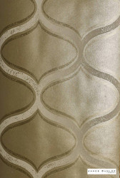 James Dunlop Indent - Moment Wallpaper - Burnished - 57185-105  | Wallpaper, Wallcovering - Gold,  Yellow, Deco, Decorative, Fibre Blends, Geometric, Ogee, Standard Width