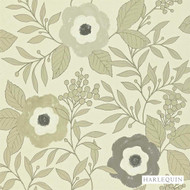 Harlequin Jena 110309  | Wallpaper, Wallcovering - Floral, Garden, Harlequin, Midcentury, Commercial Use, Domestic Use