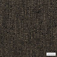 Catherine Martin By Mokum - Medina - Lacquer - 12415-882  | Upholstery Fabric - Black, Charcoal, Stain Repellent, Slub, Pattern, Texture, Fibre Blend
