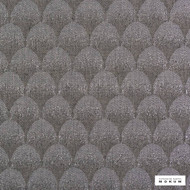 Catherine Martin By Mokum - Palais - Pewter - 12397-899  | Curtain Fabric - Grey, Art Deco, Wide-Width, Acoustic Properties, Geometric, Decorative