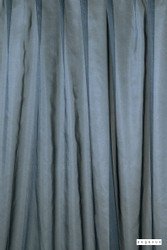 Pegasus - Glaze - Bluestone - 12359-107  | Curtain & Curtain lining fabric - Fire Retardant, Blue, Wide-Width, Plain, Fibre Blend