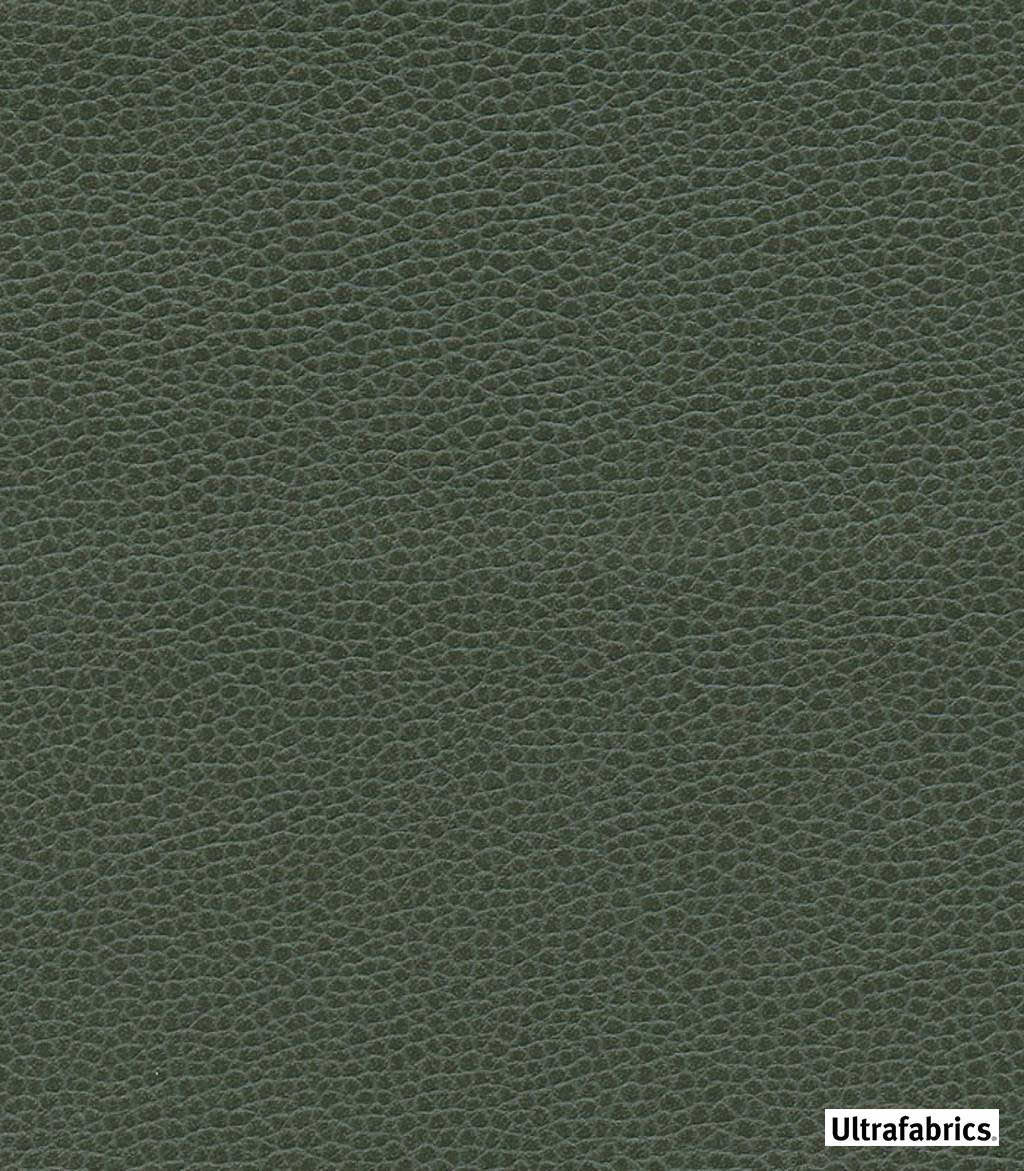 Ultrafabrics - Ultraleather Promessa - Hunter-4516 - 56039-136  | Upholstery Fabric - Fire Retardant, Plain, Faux Leather, Fibre Blends, Commercial Use, Standard Width