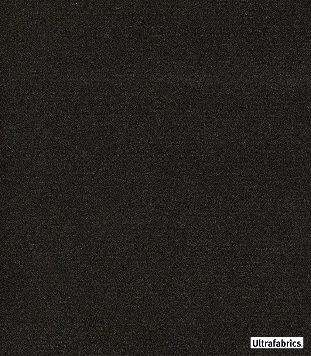 Ultrafabrics - Ultraleather Fusion - Java-3872 - 56034-110  | Upholstery Fabric - Fire Retardant, Plain, Black - Charcoal, Faux Leather, Fibre Blends, Commercial Use