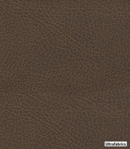 Ultrafabrics - Brisa Distressed High Uv - Chaps-3970 - 56026-105    Upholstery Fabric - Brown, Fire Retardant, Plain, Faux Leather, Fibre Blends, Commercial Use