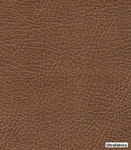 Ultrafabrics - Brisa Distressed High Uv - Lasso-3972 - 56026-101    Upholstery Fabric - Brown, Fire Retardant, Plain, Faux Leather, Fibre Blends, Commercial Use