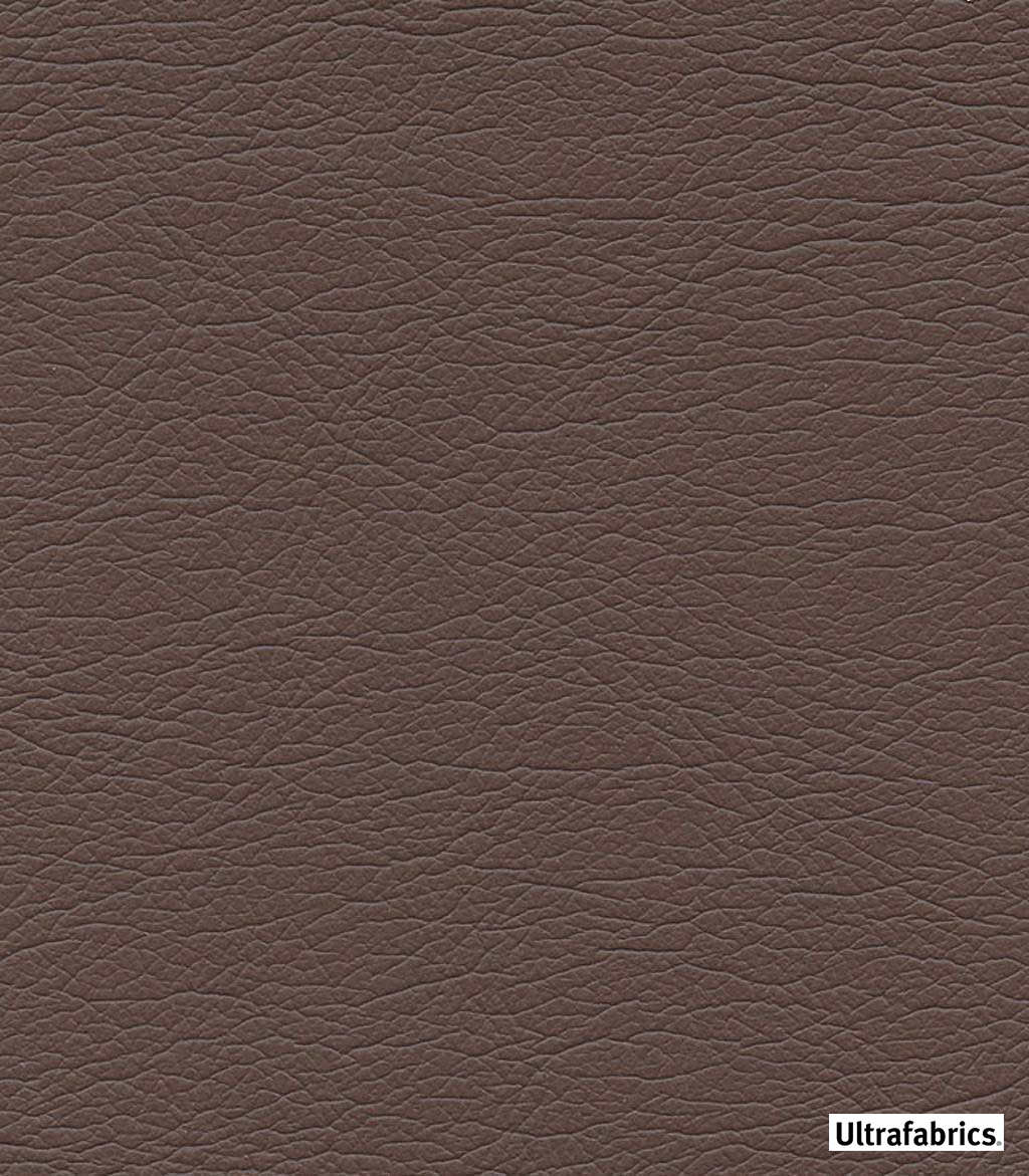 Ultrafabrics - Ultraleather Original - Raisnette-3928 - 56023-132  | Upholstery Fabric - Brown, Fire Retardant, Plain, Faux Leather, Fibre Blends, Commercial Use