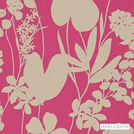 Harlequin Nalina 111048  | Wallpaper, Wallcovering - Eclectic, Floral, Garden, Harlequin, Pink, Purple, Domestic Use