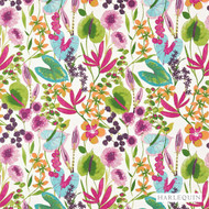 Harlequin Nalina 120331  | Curtain Fabric - Contemporary, Fibre Blends, Floral, Garden, Harlequin, Pink, Purple, Domestic Use, Standard Width