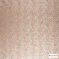 Ashley Wilde - Fawsley - Hillier Blush  | Curtain Fabric - Brown, Contemporary, Fibre Blend, Standard Width