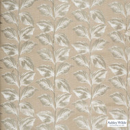 Ashley Wilde - Linus - Mabel Linen  | Curtain Fabric - Beige, Floral, Garden, Botantical, Dry Clean, Fibre Blend, Standard Width