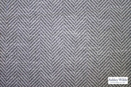 Ashley Wilde - Newport 2 - Avalon Slate  | Curtain Fabric - Grey, Contemporary, Natural Fibre, Dry Clean, Herringbone, Natural, Standard Width