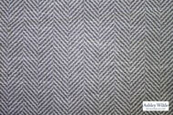 Ashley Wilde - Newport 2 - Avalon Slate  | Curtain Fabric - Grey, Contemporary, Traditional, Dry Clean, Herringbone, Natural, Natural Fibre