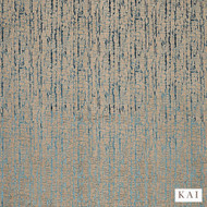 Kai - Mica - Adorna Topaz  | Curtain & Upholstery fabric - Beige, Blue, Contemporary, Dry Clean, Velvets, Fibre Blend, Standard Width
