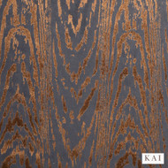 Kai - Mica - Marva Copper  | Curtain & Upholstery fabric - Gold, Yellow, Contemporary, Dry Clean, Velvets, Fibre Blend, Standard Width