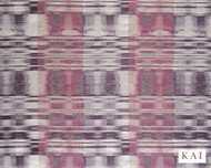 Kai - Renoir - Bazille Cassis  | Curtain Fabric - Pink, Purple, Contemporary, Dry Clean, Velvets, Fibre Blend, Standard Width