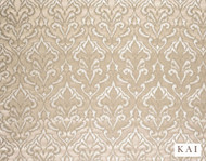 Kai - Tamu - Cinder Alabaster  | Curtain & Upholstery fabric - Beige, Contemporary, Fibre Blends, Velvet/Faux Velvet, Commercial Use, Domestic Use, Dry Clean, Standard Width