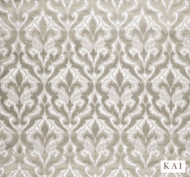 Kai - Tamu - Cinder Platinum  | Curtain & Upholstery fabric - Beige, Contemporary, Fibre Blends, Velvet/Faux Velvet, Commercial Use, Domestic Use, Dry Clean, Standard Width