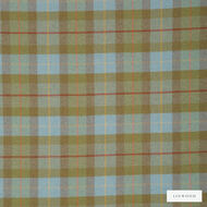 Linwood - Lf1565Fr_005 Larch Check  | Curtain & Upholstery fabric - Brown, Fire Retardant, Check, Fibre Blends, Pattern, Weave, Domestic Use, Wool - Wool Blend, Standard Width