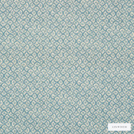 Linwood - Lf1937C_005 Sky Blue  | Curtain & Upholstery fabric - Blue, Natural Fibre, Pattern, Small Scale, Washable, Domestic Use, Natural, Print, Standard Width