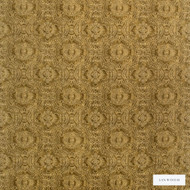 Linwood - Lf1924C_001 Gold  | Curtain & Upholstery fabric - Gold, Yellow, Geometric, Velvets, Abstract, Pattern, Medallion, Print, Fibre Blend