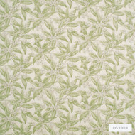 Linwood - Lf1822C_004 Apple Green  | Curtain & Upholstery fabric - Green, Floral, Garden, Botantical, Print, Fibre Blend, Standard Width