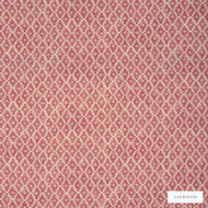 Linwood - Lf1630C_005 Faded Rose  | Curtain & Upholstery fabric - Washable, Red, Kilim, Natural, Print, Small Scale, Natural Fibre, Standard Width