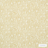 Linwood - Lf1628C_004 Maize    Curtain & Upholstery fabric - Gold,  Yellow, Floral, Garden, Natural Fibre, Pattern, Washable, Domestic Use, Natural, Print, Standard Width