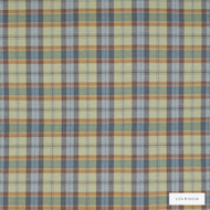 Linwood - Lf1518Fr_020 Barns Ness  | Curtain & Upholstery fabric - Fire Retardant, Gold, Yellow, Traditional, Check, Natural, Plaid, Natural Fibre