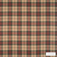 Linwood - Lf1518Fr_004 Lady Isle  | Curtain & Upholstery fabric - Fire Retardant, Gold, Yellow, Traditional, Check, Natural, Plaid, Natural Fibre