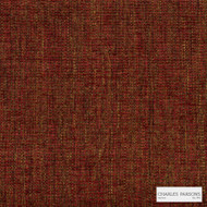 Charles Parsons Interiors - Curtis Ruby | Upholstery Fabric - Red, Uncoated, Plain