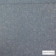 Charles Parsons Interiors - Billie Denim    Upholstery Fabric - Blue, Plain, Synthetic, Uncoated, Weave, Commercial Use