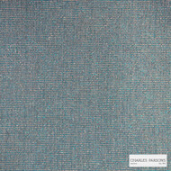 Charles Parsons Interiors - Billie Ocean  | Upholstery Fabric - Blue, Plain, Synthetic, Uncoated, Weave, Commercial Use