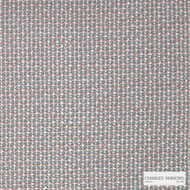 Charles Parsons Interiors - Textured Knot Coral | Upholstery Fabric - Beige, Grey, Uncoated, Plain