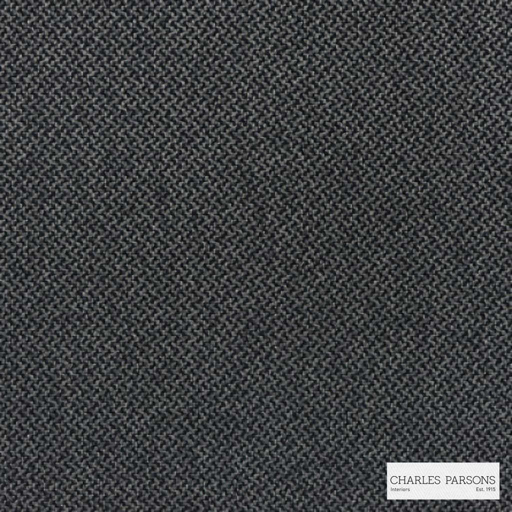 Charles Parsons Interiors - Loft Charcoal  | Upholstery Fabric - Plain, Black - Charcoal, Uncoated, Weave, Commercial Use