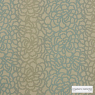 Charles Parsons Interiors - Edie Beige Green | Upholstery Fabric - Green, Floral, Garden, Botantical, Uncoated