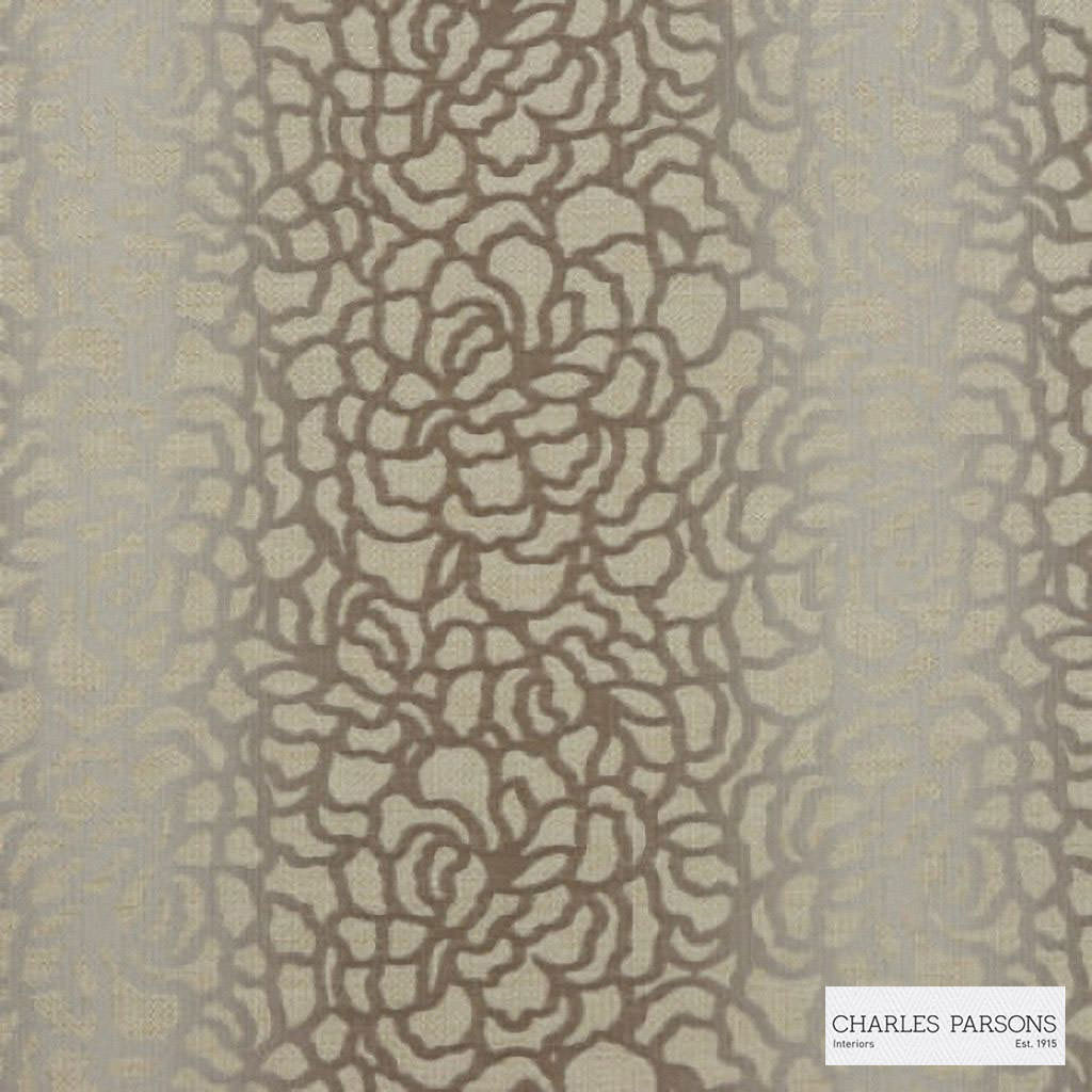Charles Parsons Interiors - Edie Cream Ivory  | Upholstery Fabric - White, Floral, Garden, Uncoated, Weave, Commercial Use, White