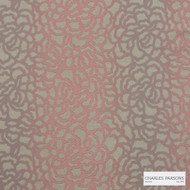 Charles Parsons Interiors - Edie Pink Rose  | Upholstery Fabric - Floral, Garden, Pink, Purple, Uncoated, Weave, Commercial Use