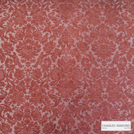Charles Parsons Interiors - Antoinette Damask Red | Upholstery Fabric - Red, Jacquards, Traditional, Uncoated, Damask