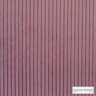 Charles Parsons Interiors - Antoinette Stripe Red  | Upholstery Fabric - Red, Stripe, Uncoated, Weave, Commercial Use, Jacquards