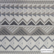 Charles Parsons Interiors - Warrior Stone  | Upholstery Fabric - Beige, Geometric, Uncoated, Weave, Commercial Use, Domestic Use, Jacquards