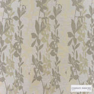 Charles Parsons Interiors - Sylvan Sand  | Curtain Fabric - Beige, Floral, Garden, Uncoated, Weave, Commercial Use