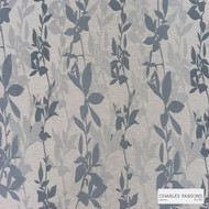 Charles Parsons Interiors - Sylvan Slate | Curtain Fabric - Grey, Floral, Garden, Botantical, Jacquards, Uncoated