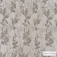 Charles Parsons Interiors - Sylvan Taupe  | Curtain Fabric - Grey, Floral, Garden, Uncoated, Weave, Commercial Use