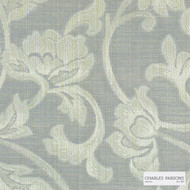 Charles Parsons Interiors - Totteridge Dove | Curtain Fabric - Grey, Floral, Garden, Botantical, Traditional, Uncoated, Damask