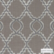 Charles Parsons Interiors - Jefferson Fudge  | Curtain Fabric - Geometric, Uncoated, Weave, Commercial Use