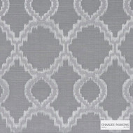 Charles Parsons Interiors - Jefferson Silver  | Curtain Fabric - Geometric, Uncoated, Weave, Commercial Use