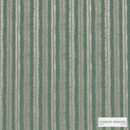 Charles Parsons Interiors - Regents Park Bayleaf  | Curtain Fabric - Stripe, Uncoated, Weave, Commercial Use