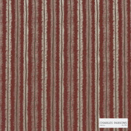Charles Parsons Interiors - Regents Park Red Lantern  | Curtain Fabric - Stripe, Uncoated, Weave, Commercial Use